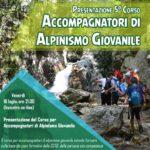 Corso per Accompagnatori di Alpinismo Giovanile